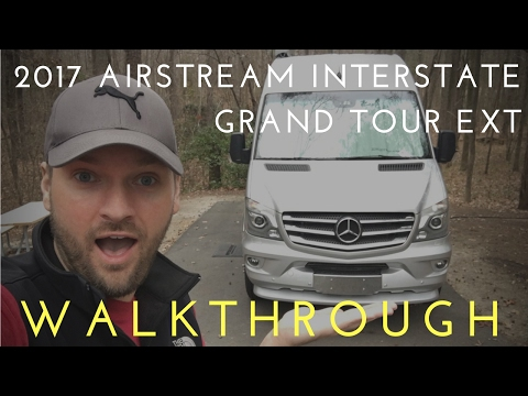 GLAMPING in a $168.000 Van: Mercedes Airstream Interstate