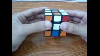 cách xuay rubik 1 mặt ( rubik 3x3x3)