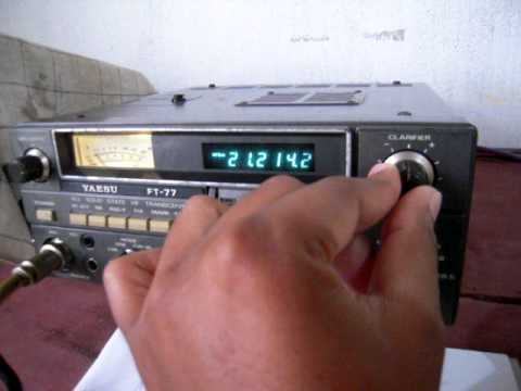 vidula yaesu ft 77 My radio station 15m.AVI