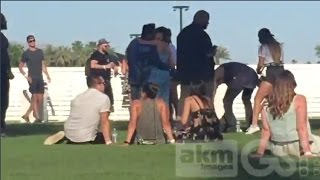 Download video Selena Gomez & The Weeknd Seen Making Out At Coachella In Indio, California 4/15/2017