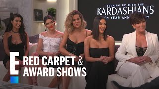 """Kardashians Relive the Most Iconic """"KUWTK"""" Moments   E! Live from the Red Carpet"""