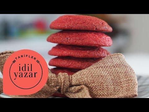 Sevgililer Günü için Kırmızı Kadife Kurabiye Tarifi - İdil Tatari - Yemek Tarifleri