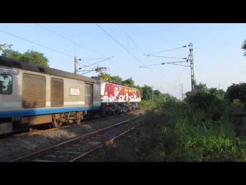Amul Wap-5 Hauling Shatabdi Express Crosses Umroli At Mps! video