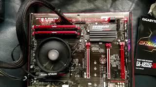 Gigabyte GA 350 Gaming 3 motherboard