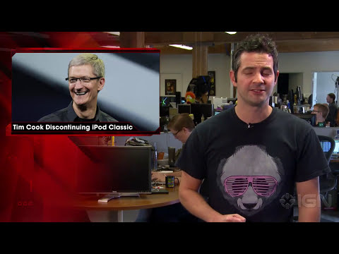 Tim Cook - iPod Classic Discontinued Because Apple Couldn't Get The Parts - IGN News