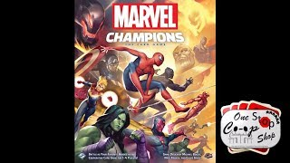Marvel Champions  |  Two-hero playthrough  |  with Mike