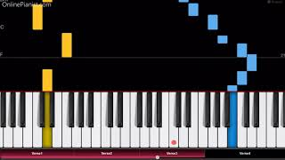 """Download Lagu """"What Shall We Do with the Drunken Sailor?"""" - EASY Piano Tutorial Gratis STAFABAND"""