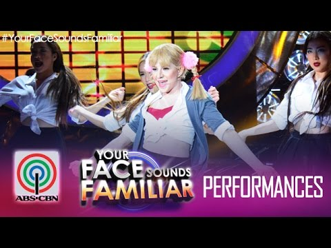"""Your Face Sounds Familiar: Melai Cantiveros as Britney Spears - """"Baby One More Time"""""""