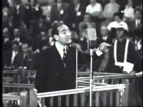 Adnan Menderes'in sesinden Yassıada savunması