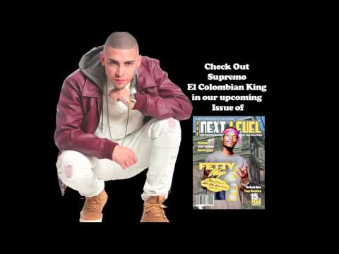 Supremo El Colombian King Performs for the next level magazine