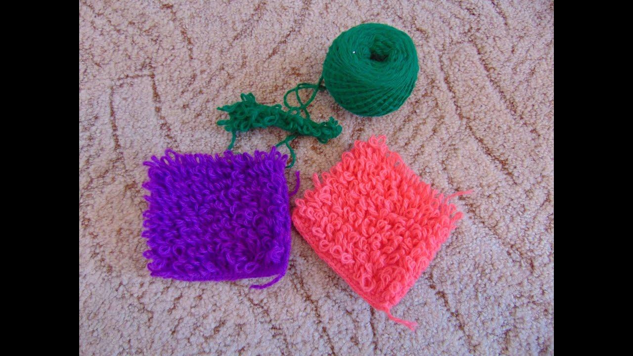 Вязание крючком сереги