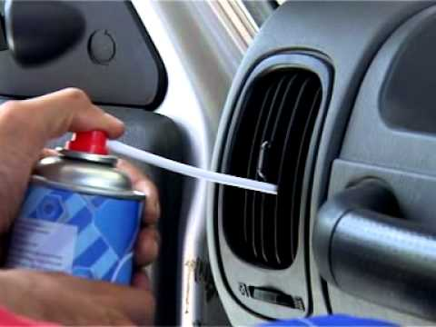 Air Condition Cleaner For Car Youtube