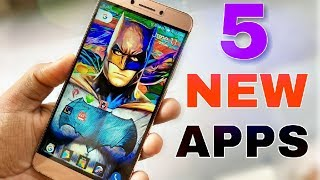 TOP 5 NEW APPS for June 2017,You Should try Right now