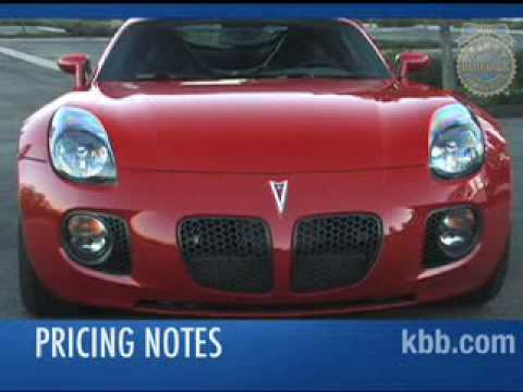 Pontiac Solstice Coupe Video - Kelley Blue Book