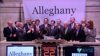 Alleghany Corporation Celebrates 85 Years of Trading