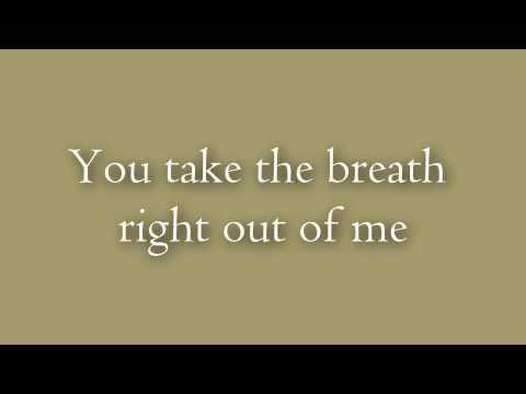 Breath~by Breaking Benjamin~Lyrics