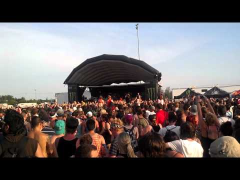 Sleeping With Sirens Intro do It Now Remember It Later Warped 2012 video