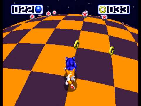 Sonic the Hedgehog 3 - Sonic the Hedgehog 3 - Sega Genesis - fifth emerald and a perfect (all rings collected) - User video