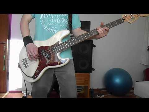 blink 182 rock show bass cover...