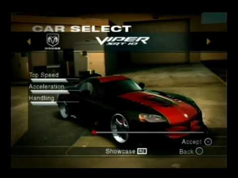 Performance Tuning Dodge Viper SRT-10 502 KMH NFS ... Ps2 Need For Speed