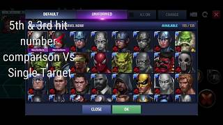 Wolverine Uniform Comparison (Marvel Now v AoA) - Marvel Future Fight