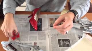 """""""Cómo hacer un zapato de papel"""""""
