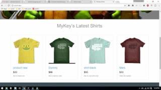 Shopping cart: E-Commerce website in Laravel #6