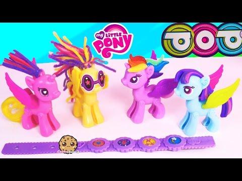 My Little Pony POP Princess Cadance + Twilight Sparkle Style Kit MLP Maker Playset Set