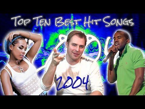 The Top Ten Best Hit Songs of 2004