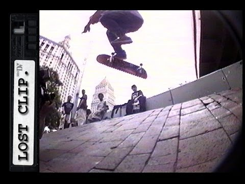 Rick Howard Lost & Found Skateboarding Clip #50 Brooklyn Banks