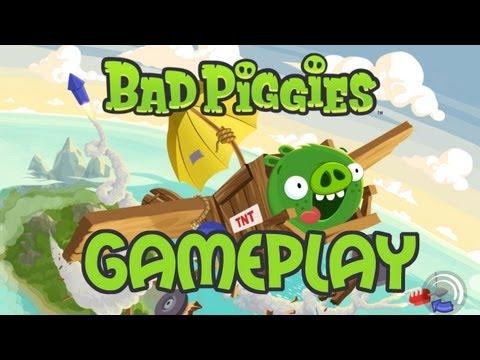 Gameplay   Bad Piggies! el nuevo juego de Rovio