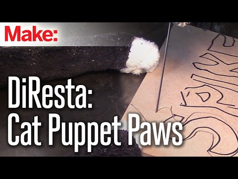 DiResta: Cat Puppet Paws