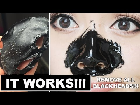 REMOVE ALL BLACKHEADS! IT WORKS! My Scheming Mask Review