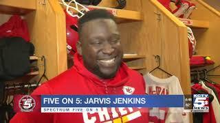Five on 5: Jarvis Jenkins