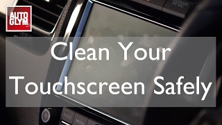 How To Clean Your Sat Nav Screen