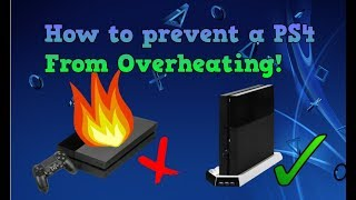 How to Prevent A PS4 From Overheating | Prevent Random Crashes | Improve PS4 Lifespan!