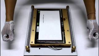 Big size iPad 15inch Built-in vacuum pump LCD separator machine -- From Gowell