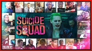 Suicide Squad Final Trailer Reaction's Mashup