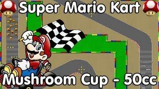 Super Mario Kart! Mushroom Cup - 50cc (Mario)