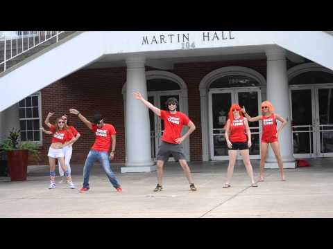 Small Apple Flash Mob Dance In Louisiana 路易斯安那《小苹果》快闪 video