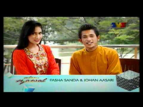 Teaser Ucapan Aidilfitri 2011 - Fasha Sanda & Johan Aasari (Salam Syawal Tv3)!