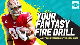 "NFL Week 8 Fantasy Football Advice | ""Your Fantasy Fire Drill"""