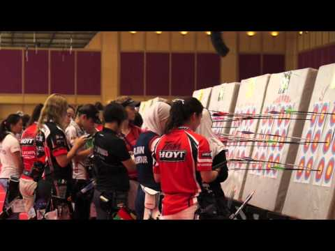 Compound Highlights Day 1 Indoor Archery World Cup Bangkok 2014/15