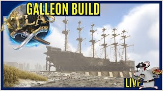 ATLAS GALLEON BUILD! CAN WE FINISH IT?