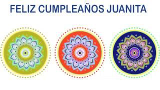 Juanita   Indian Designs - Happy Birthday