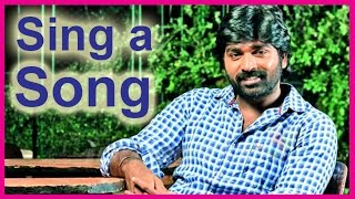 Mittai - Vijay Sethupathi Sing a Song in Aaranju Mittai | Latest Tamil Cinema News