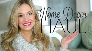 HUGE HOME DECOR HAUL! | Target Dollar Spot, Home Goods, Walmart & Marshalls