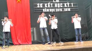 Liên Khúc Sáo , Beatbox ( Trường THPT NĐ1 ) - Thắm sáo