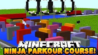 Orta Zorluk ! (Minecraft NİNJA WARRIOR PARKOUR #2)