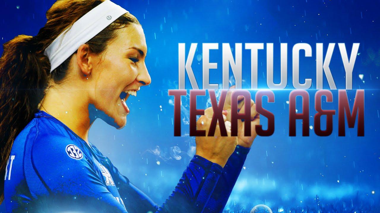 Kentucky Wildcats TV Kentucky Wildcats TV  Volleyball vs Texas A amp M